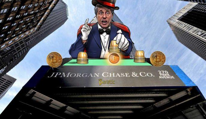 """JP Morgan Chase'den """"Bu Ne Perhiz, Bu Ne Lahana Turşusu"""" Dedirten Bitcoin Açıklaması"""