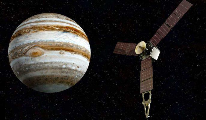 NASA Jüpiter'e Ait En Son Çekilmiş Fotoğrafları Paylaştı