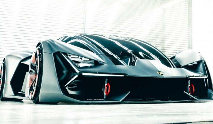 Lamborghini EV Aracı Terzo Millennio Concept'in Perdesini Kaldırdı!
