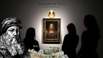 Leonardo da Vinci'nin Tartışmalı Tablosu Rekor Fiyata Satıldı!