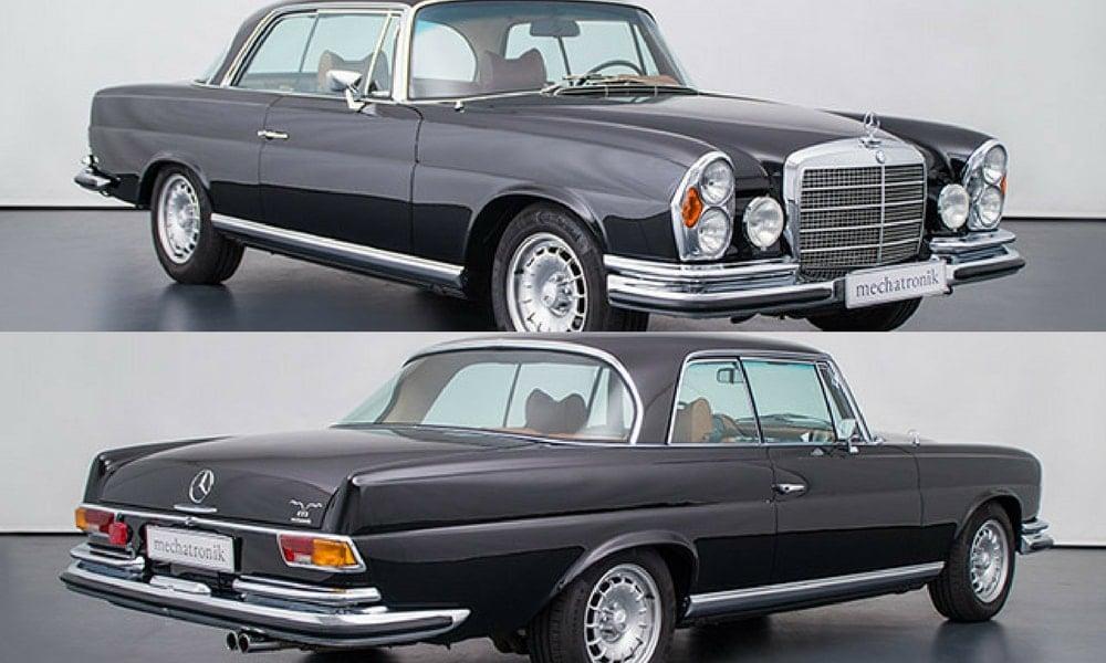 W111 Coupes