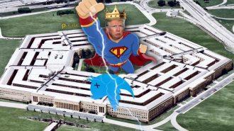 Pentagon'un 'Trump İstifa Etsin' Retweeti Olay Yarattı!