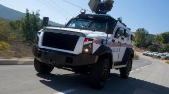 Plasan SandCat Ford F550'yi Kurşun Geçirmez Zırhlı Polis Aracına Çevirdi!