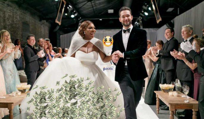 Serena Williams'ın Düğünündeki Milyonluk Parça: Astronomik Fiyatlı Gelinliği!