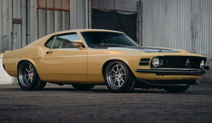 """SpeedKore 1970 Birinci Nesil Ford Mustang'i """"Robert Downey Jr."""" için Yeniledi!"""