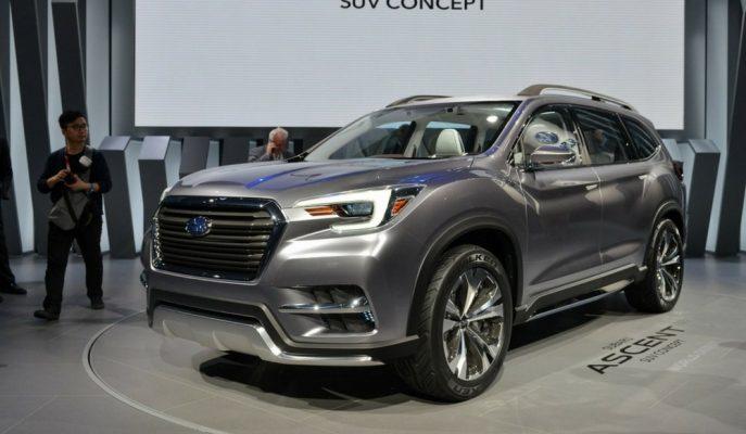 Subaru'nun 7 Kişilik Ascent SUV Modelinden Ufak Detaylar!