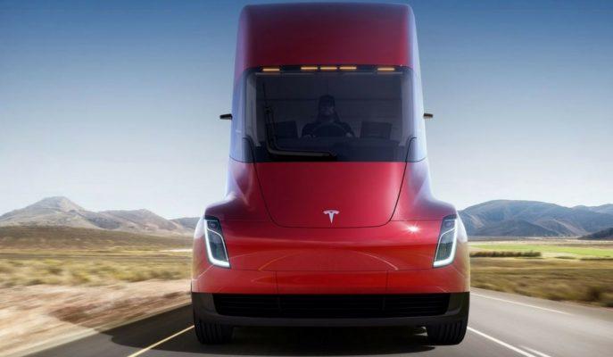 """Tesla'nın TIR'ı """"SEMİ"""" Resmen Dünyaya Tanıtıldı!"""