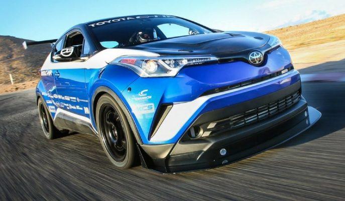Toyota C-HR R-Tuned 600 Beygirle Akla Zarar Hızlara Ulaşıyor!