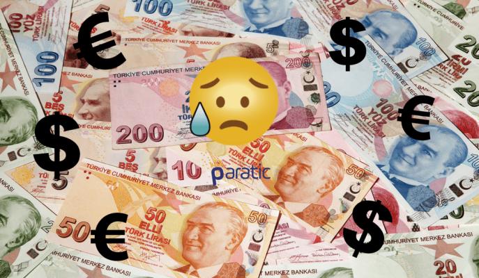 Türk Lirasında Rekor Düşüş! Dolar 3,93 ve Euro 4,63 Lira
