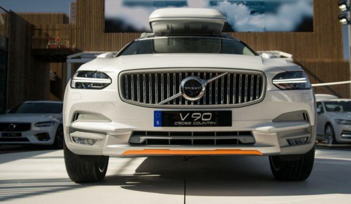 """Volvo V90 Modeline """"Ocean Race"""" ile Okyanus Çöplerinden Yeniden Hayat Verdi!"""