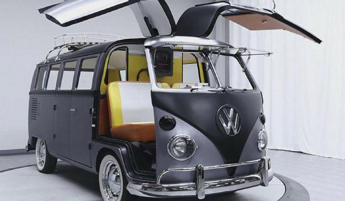 VW Camper Type: Geleceğe Dönüş DeLorean'ın Camper VAN'ı!