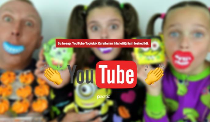 """Youtube 8 Milyon Abonesi Olan """"Çocuk"""" Kanalını Kapattı! Darısı Diğerlerinin Başına!"""
