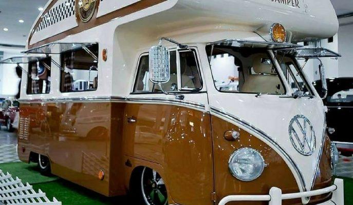 Yumos VW'den Modifiyeli Lüks Camper Karavan!