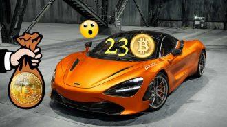 2010'da 10 Bin Bitcoine Pizza, Bugün 23 Bitcoine 2018 Mclaren 720S!