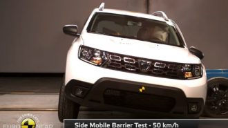 2018 Yeni Dacia Duster Güvenlik ve Kaza Testi