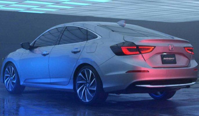 """2018 Yılı için Hazırlanan Yeni """"Honda Insight""""ın Görkemli Duruşu!"""