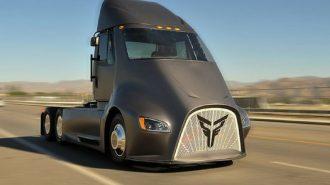 2019 Yeni Thor Truck ET One: Tesla Semi'ye Ateşli Bir Rakip Geliyor!