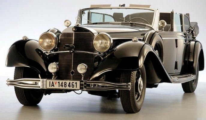 Adolf Hitler'in 770K Mercedes'i Satılıyor!