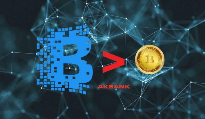 """Akbank'tan Açıklama """"Bitcoin Kulaksa Blockchain Boynuz!"""""""