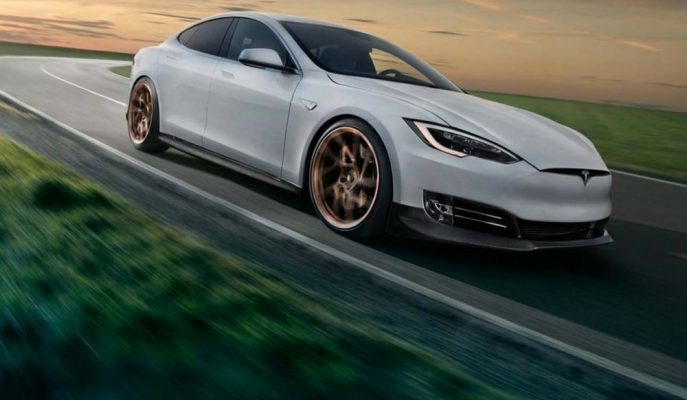 Alman Novitec'ten Tesla Model S'e Sade Dokunuşlar!