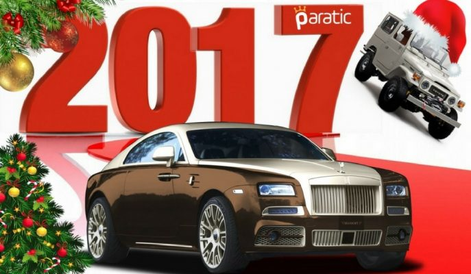 Arabacılar Buraya! 2017'de Paratic'te Yayınlanmış En Dikkat Çekici Otomobil Listeleri ve Galerileri