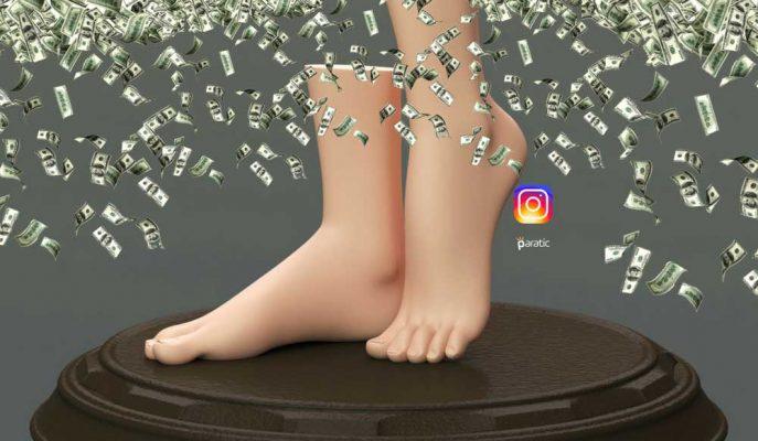 Instagram'da Ayak Fotoğrafları Paylaşarak Yılda 90 Bin Dolar Kazanıyor!