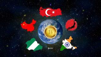 Bitcoine En Çok Yatırım Yapan Ülkeler Belli Oldu! Türkiye İlk Sıralarda!