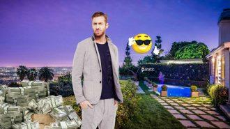 5 Yıldır En Çok Kazanan DJ Olan Calvin Harris, Hollywood Hills'e Milyonlar Döktü!