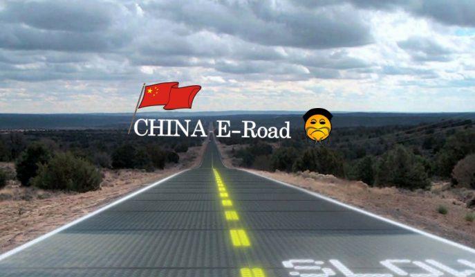 Çin, Elektrikli Araçları Kablosuz Şarj Eden ve Veri Toplayan Yol İnşaatına Başladı!