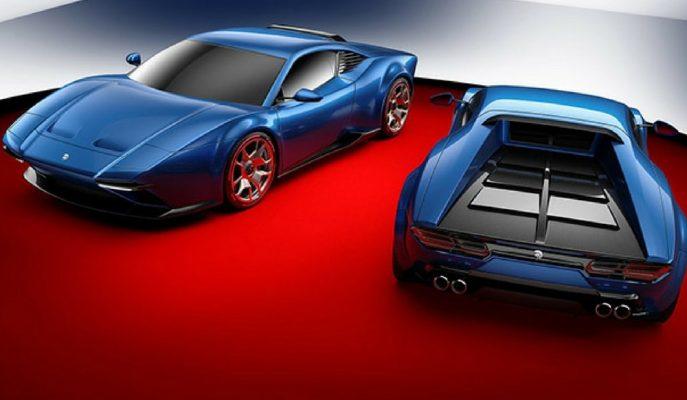 De Tomaso Pantera Genetik Yapısını Artık Lamborghini'den Alacak!