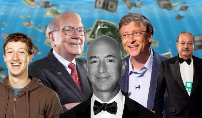 """2017'de Dünyanın En Zenginlerinin Kasalarına """"1 Trilyon Dolar"""" Daha Eklendi!"""