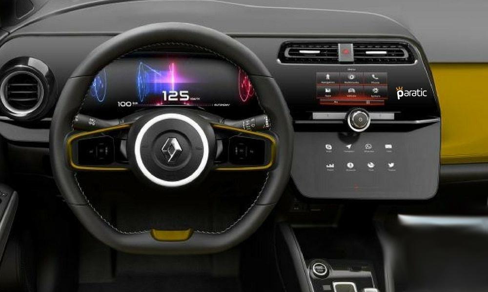 2019 Renault Captur İç Mekani