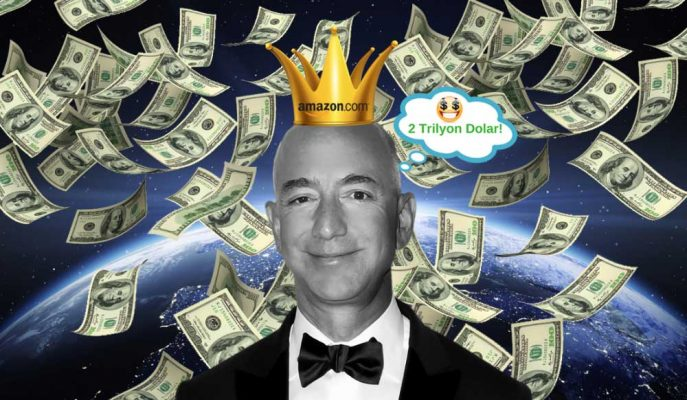 """Dünyanın İlk """"2 Trilyon Dolarlık"""" Şirketi Amazon mu Olacak?"""
