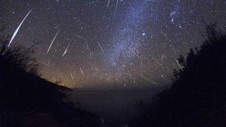 Geminid Meteor Yağmurundan Göz Alıcı Görüntüler