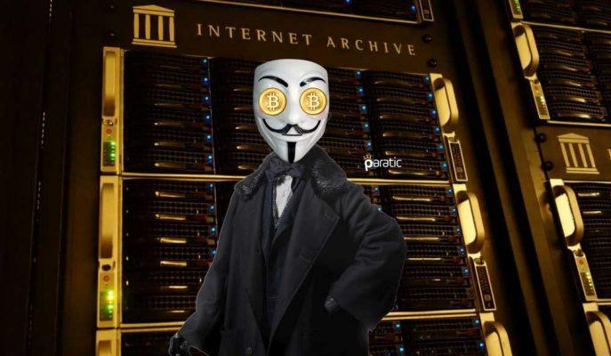 Gizemli Hayırseverden Internet Archive'e 1 Milyon Dolar Değerinde Bitcoin Bağışı!