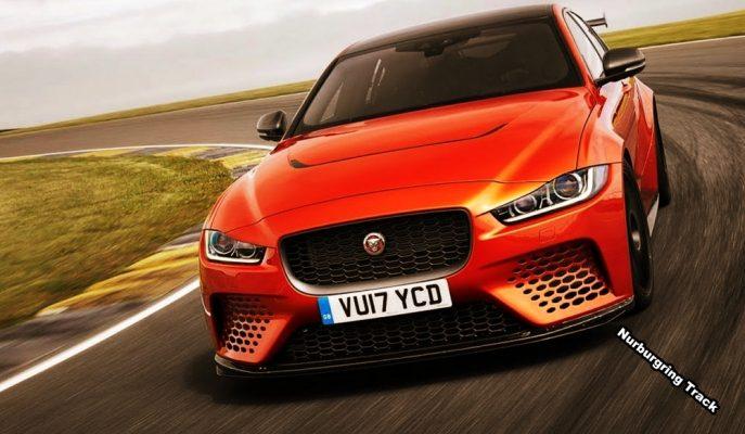 """Yeşil Cehennemin Hız Rekorunu """"Jaguar XE SV Project 8"""" Alfa Romeo'dan Aldı!"""