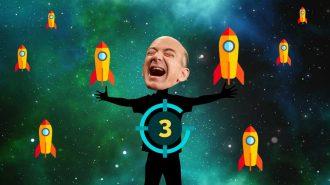 Jeff Bezos Blue Origin Roketinin Başarılı Test Uçuşuyla Uzay Turizmine Göz Kırptı!