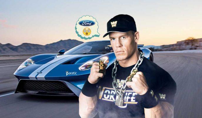 WWE'nin Milyarder Yüzü John Cena'ya 500 Bin Dolarlık Ford GT Şoku!