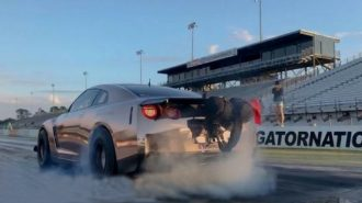 Kainatın En Güçlü Nissan GT-R'ı 400 Metre Rekoru için Hazırlanıyor!