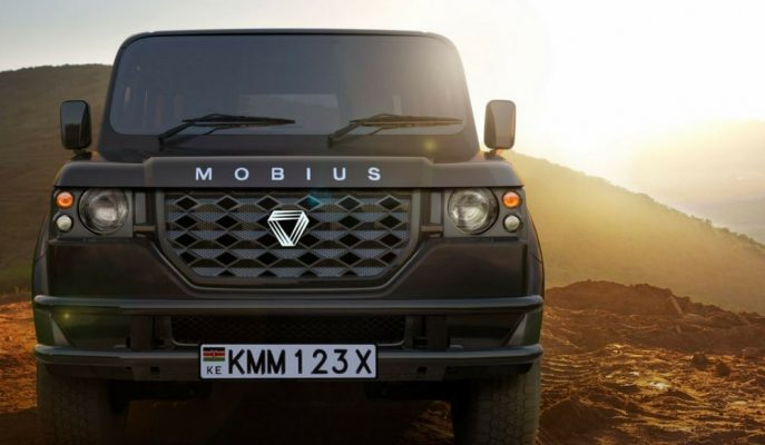 """Kenya'dan Çinlileri Aratmayacak Ucuz """"Mobius II SUV"""" Model!"""