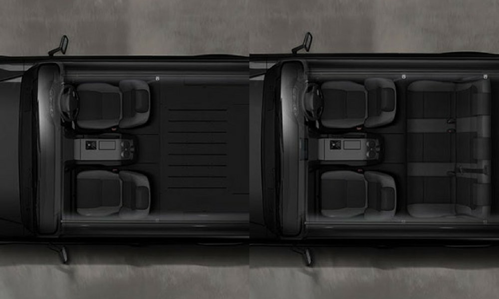 Mobius II 4x4 SUV Koltuk Düzeni