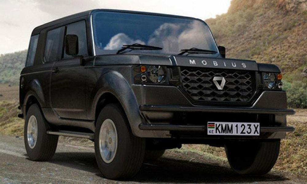Mobius II Land Rover Mercedes