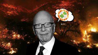 Kontrol Altına Alınamayan Yangın Medya Patronunun Milyon Dolarlık Evini de Yaktı!