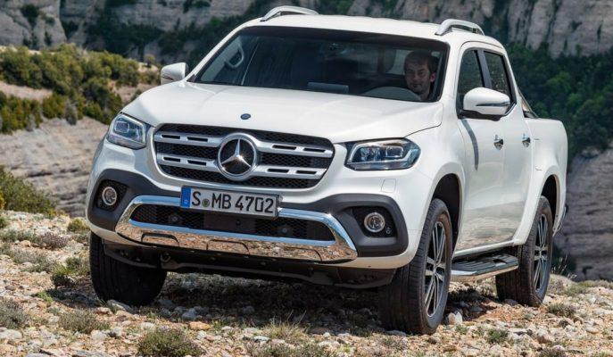 """Mercedes'in Pick-up Dünyasına Kattığı """"X-Class""""ın Türkiye Donanım ve Fiyatları!"""
