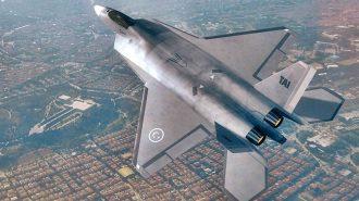 Milli Savaş Uçağı TF-X 2023'ün Teknik Özellikleri Netleşti