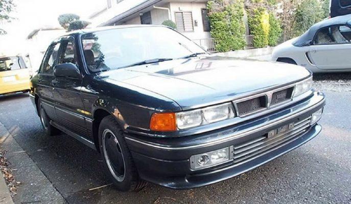Mitsubishi'nin Unutulmaz AMG Motorlu Galant'ı!