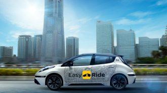 """Nissan – DeNA Ortaklığında """"Otonom Elektrikli Taksiler"""" Faaliyete Geçiyor!"""