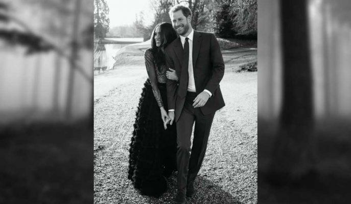 """Prens Harry ile Meghan Markle'ın Nişan Fotoğraflarındaki """"56 Bin Pound Detayı"""""""