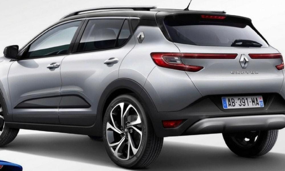 2019 Renault Captur Arka Görünüm