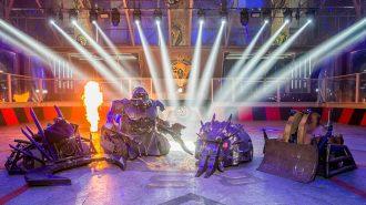 Son Teknoloji Ürünü Robotların Arenadaki Savaş Görüntüleri
